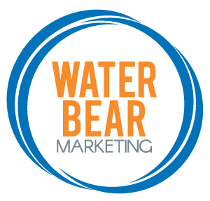 Water Bear Marketing Primary Round Logo for Square Shapes