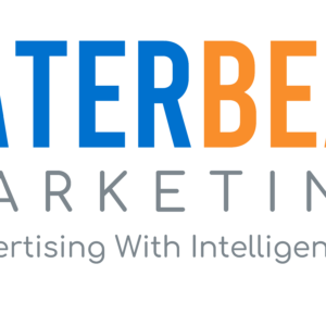 Water Bear Marketing Primary Logo with Advertising With Intelligence®